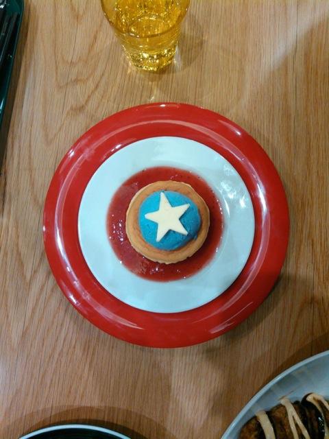 captain america pancake